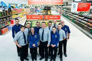 Could you join the Aldi team?
