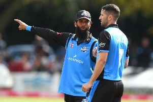 Moeen Ali played a key role in Nottinghamshire's defeat