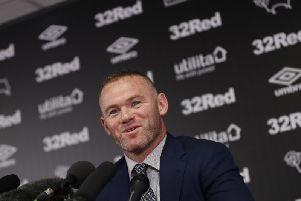 Wayne Rooney is joining Derby County.