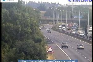 Junction 23 of the M1