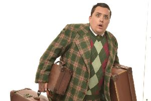 Laughs galore when One Man, Two Guvnors comes to Derby Theatre
