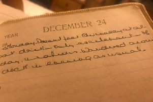 An extract from the diary