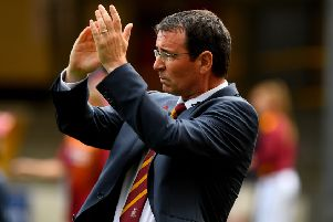 Bradford City boss Gary Bowyer