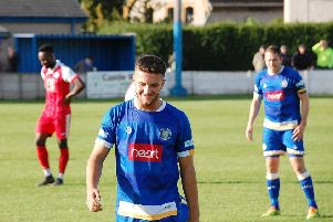 Paul Dawson scored the winner against Radcliffe Borough.