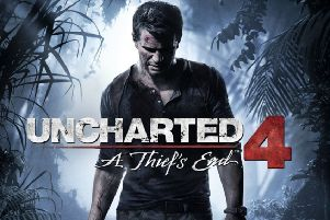 GAME OF THE WEEK: Uncharted 4: A Thief's End, Platform: PS4.  Pic credit: PA Photo/Handout.