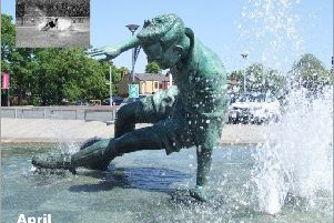 April photo: The Sir Tom Finney Splash statue