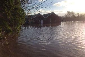 St Michaels on Wyre was badly affected by flooding after Storm Desmond in winter 2015