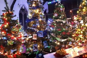 Morecambe Parish Church Christmas Tree festival was held over three days and was judged a great success.