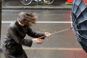 Strong winds are forecast for New Year's Eve
