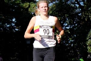 Lancaster and Morecambe Athletics Club's Louise Goddard.