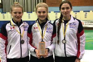 Emma Whitaker won a silver medal at the European Cup in Spain.