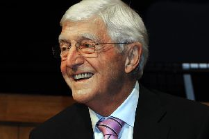 Sir Michael Parkinson will be coming to Lancaster.  Picture by Neil Silk .