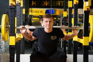 Sam Haines at Fortitude Fitness
