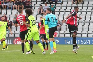 Morecambe are in need of three points on Saturday