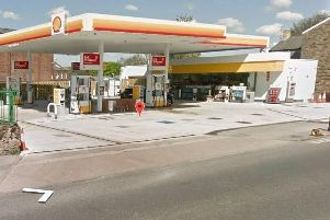 The Shell garage on Caton Road, Lancaster