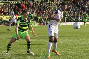Morecambe were beaten at Forest Green Rovers last season