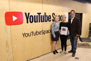 Animated pre-school series Cloudbabies, created by Chorley resident Bridget Appleby (middle), has been awarded YouTubes Silver Play Button in recognition of the popularity of the shows YouTube channel