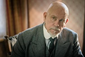 John Malkovich stars as Agatha Christie's Belgian detective Hercule Poirot in The ABC Murders, a new adaptation showing this week