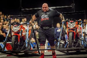 Graham Hicks is looking to be Britain's Strongest Man