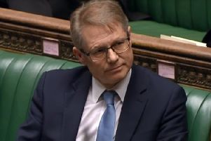 David Morris MP in the House of Commons