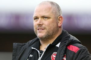 Morecambe manager Jim Bentley     Picture: Getty Images