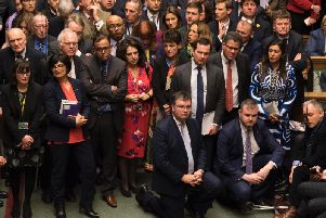 MPs before the vote (UK Parliament/Mark Duffy)