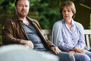 Ricky Gervais and Penelope Wilton star in the new Netflix show After Life