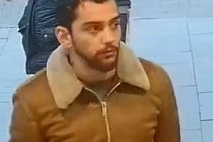 Police want to speak to this man in connection with a suspected fraud at Booths supermarket in Carnforth