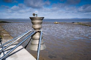Morecambe's Time & Tide Bell awaits new 'clapper'