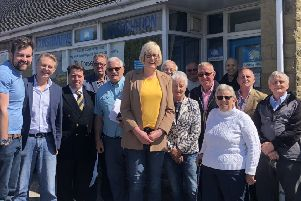 The Conservative Group with David Morris MP and county councillors.