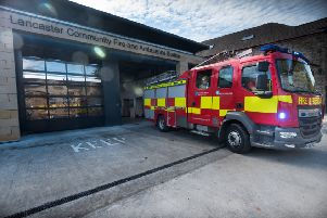 Lancaster Fire and Ambulance station.