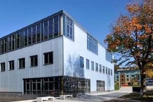 The LICA building at Lancaster University