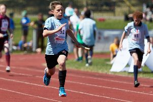 Heysham (Morecambe Bay) in the athletics event