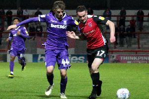 Morecambe met Stoke City in last season's EFL Trophy