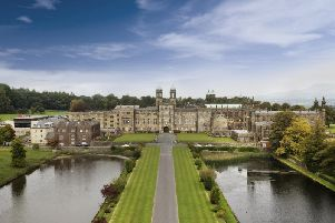 Stonyhurst College is located between Longridge and Clitheroe in Lancashire's Ribble Valley.