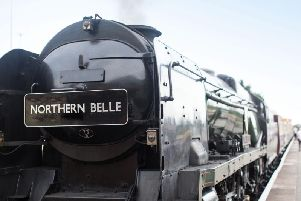 Jeans and trainers are banned on the Northern Belle
