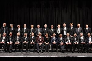 The Lancaster and District Male Voice Choir'The LDMVC is one of the oldest secular male voice choirs in the country.