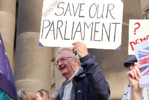 Lancaster residents protest 'attack on democracy', while others say 'suck it up'