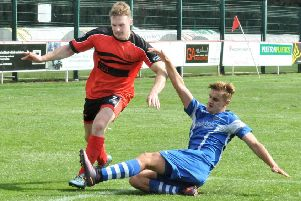 Jake Salisbury gave Garstang a half-time lead before they eventually lost at Chadderton