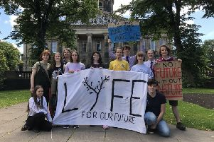 'Human globe' demonstration as Lancaster businesses, teachers, and students to take part in Global Climate Strike