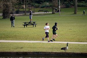 Councils are being urged to keep parks open unless social distancing is impossible
