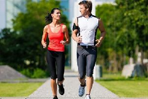Running with a friend can help keep you motivated