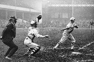 Chicago White Sox vs New York Giants in 1924 at Goodison Park