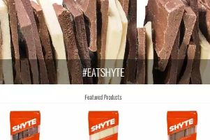 The Shyte home page. The name is an acronym for 'seriously helps you to energise""