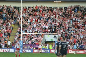 Greater Manchester Mayor Andy Burnham, Leigh MP Jo Platt and Lord Peter Smith have praised Leigh's loyal fan base