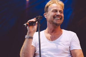 Jason Donovan Scarborough Open Air Theatre.