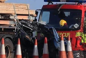 A number of vehicles have been involved in the crash on the M58 near Wigan.