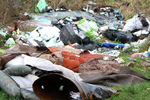 The council is cracking down on fly-tipping