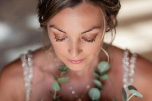 Wedding make-up. Photo by Rita Parmar