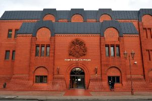Wigan Magistrates' Court where the harassment hearing was held